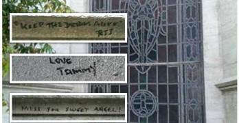 Michael Jackson Tomb Vandalized By MJ Fans