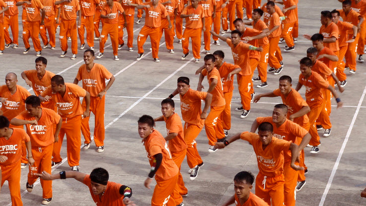 Prisoners Perform Michael Jackson Tribute