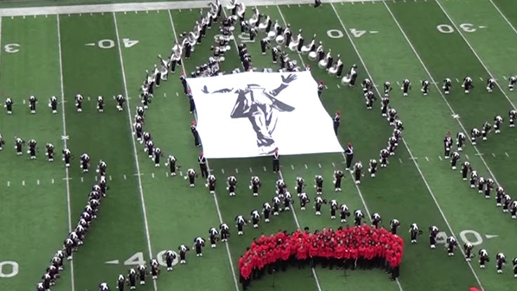 Ohio State Marching Band MJ Tribute
