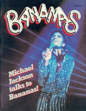 MIchael Jackson Bananas Magainze