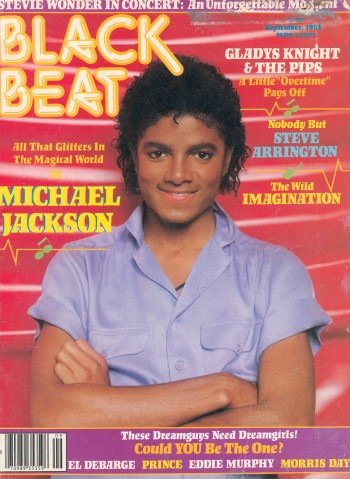 Michael Jackson Black Beat Magazine