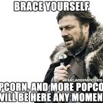Brace Yourself MJ Popcorn Is Coming