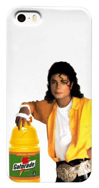 Michael Jackson with Gatorade